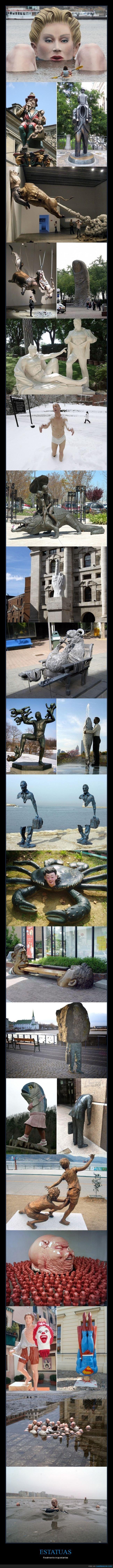 estatuas,raras,wtf