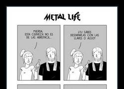 Enlace a Ha fracasado como metalero