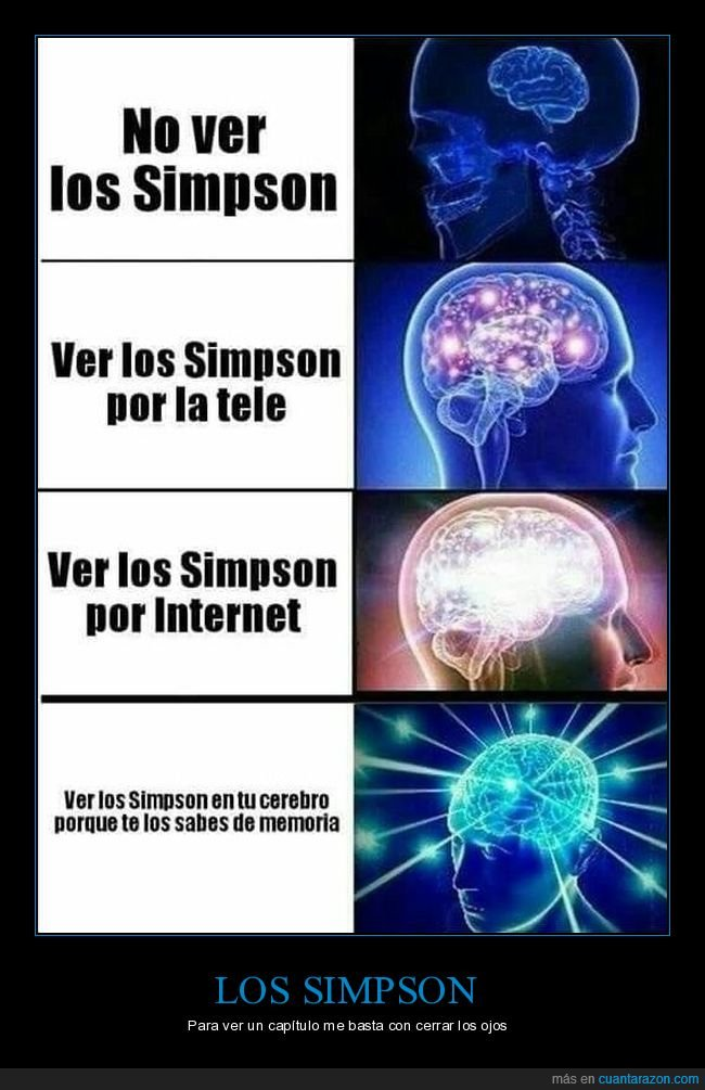 cerebro,memoria,simpsons