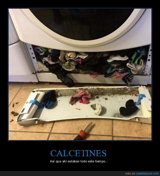 calcetines,lavadora