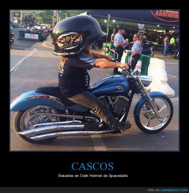 casco,casco oscuro,gigante,moto,spaceballs