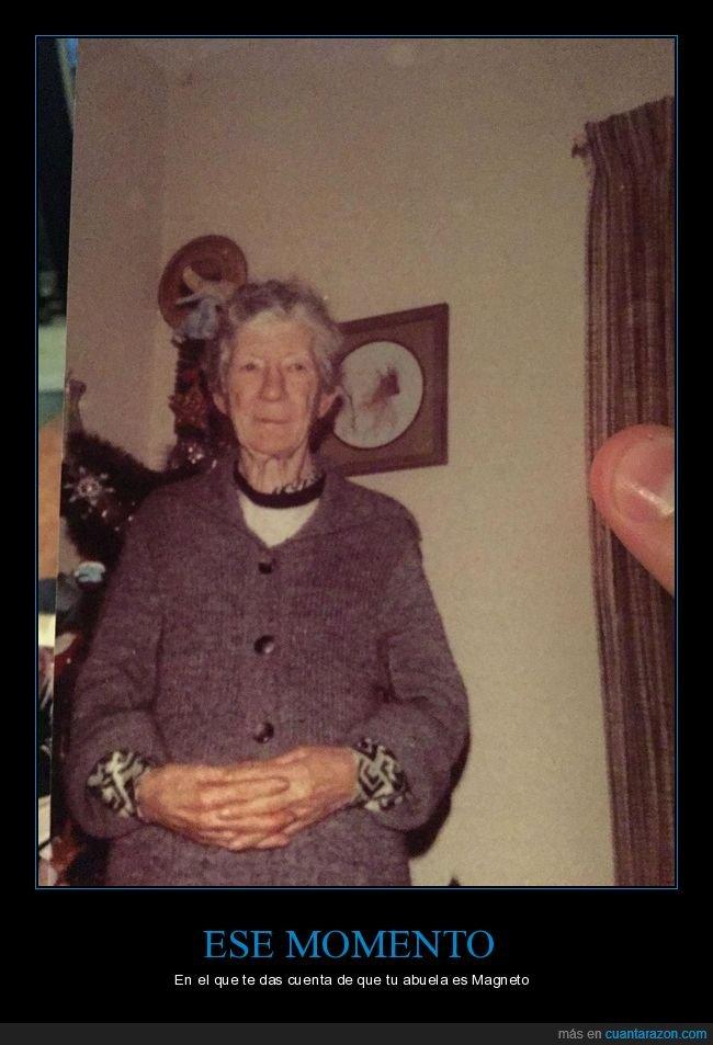 abuela,magneto,parecidos