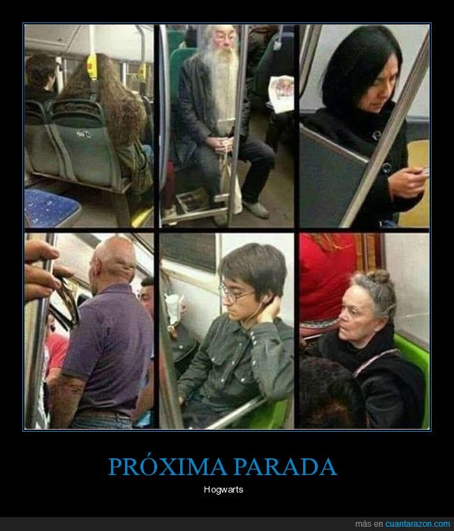 harry potter,parecidos,tren
