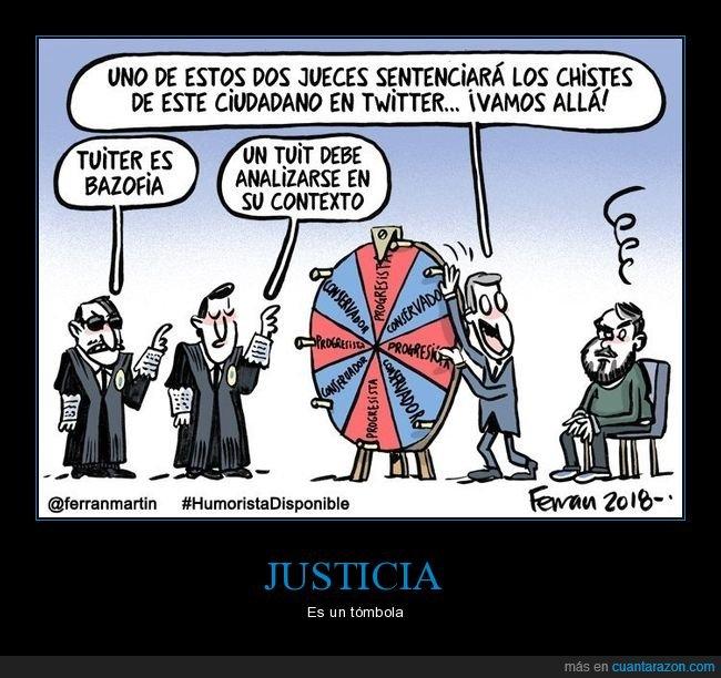 juez,justicia,ruleta,twitter