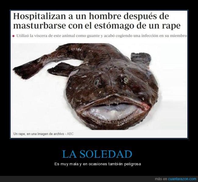 hospitalizado,pez,rape
