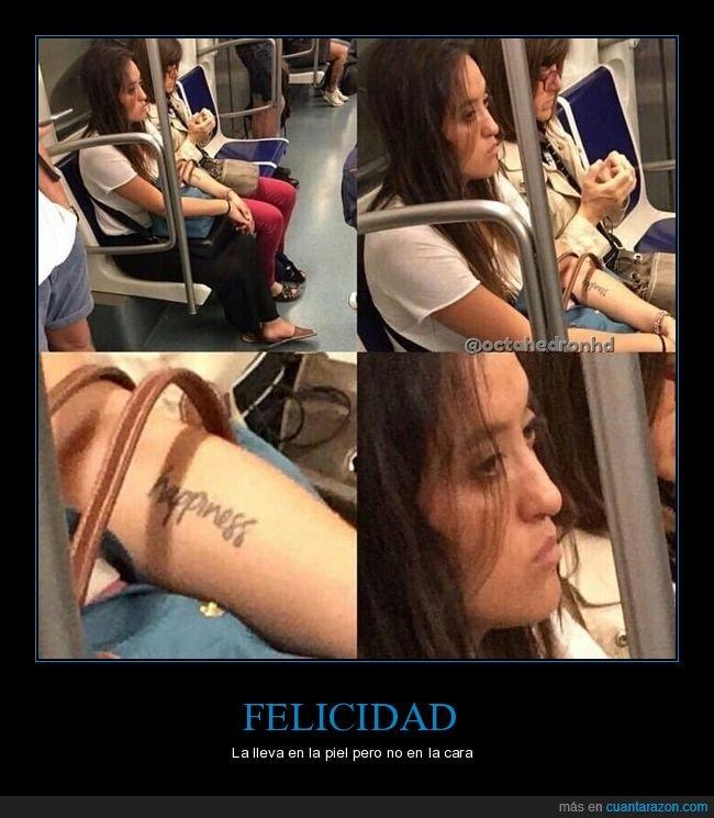 cara,felicidad,tatuaje