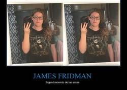 Enlace a James Fridman, el troll del Photoshop, sigue haciendo de las suyas