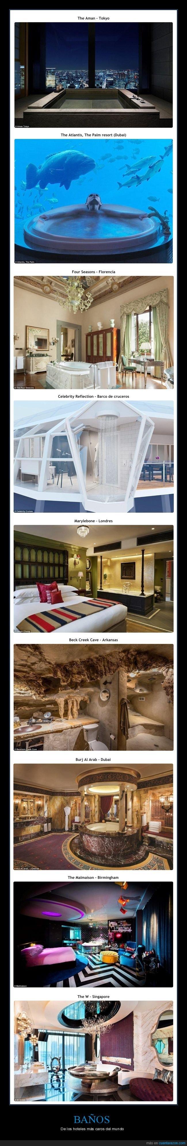 baños,caros,hoteles