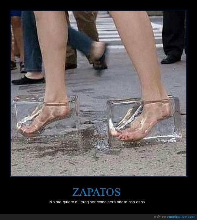 hielo,wtf,zapatos