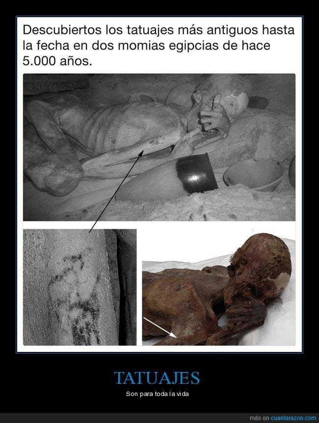 antiguos,descubrimiento,egipto,momias,tatuajes