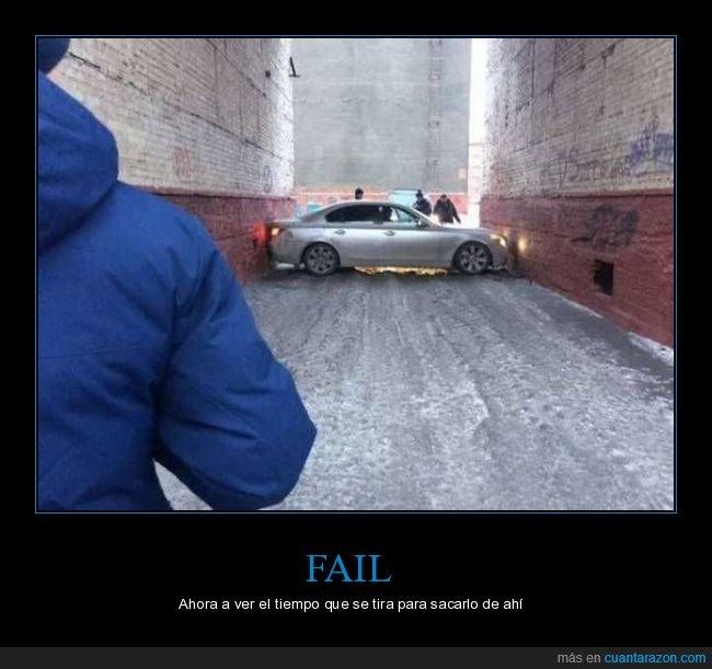 atascado,coche,fails