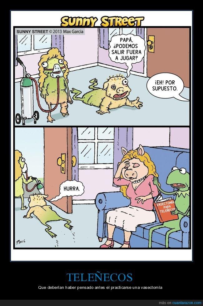 hijos,teleñecos,vasectomía