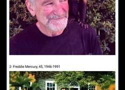 Enlace a Las últimas fotos que le hicieron a 20 conocidos famosos el día antes de morir