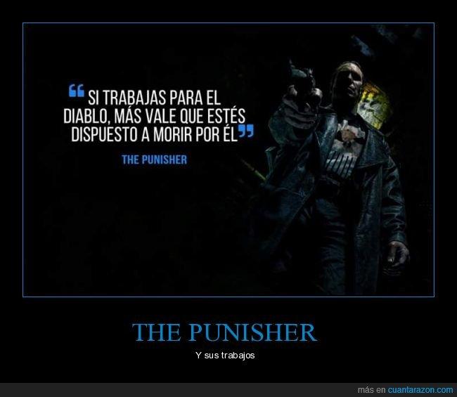 diablo,punisher,trabajo