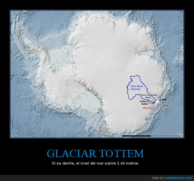 antártida,derretirse,glaciar,nivel del mar