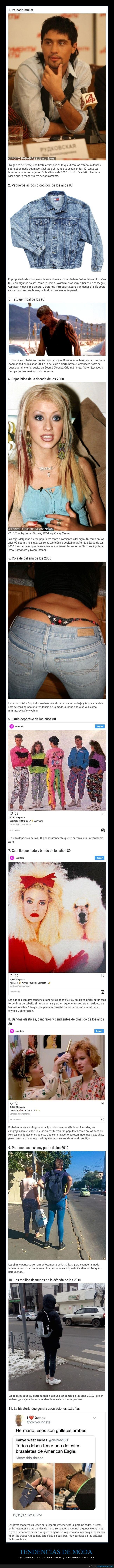 épocas,moda,tendencias