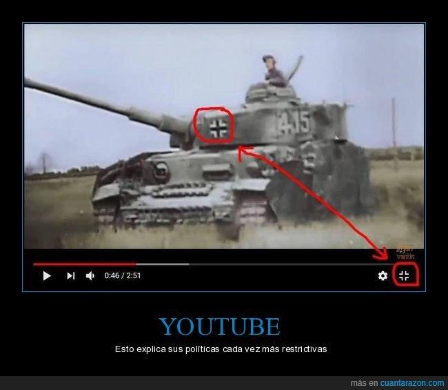 símblo,tanque,youtube