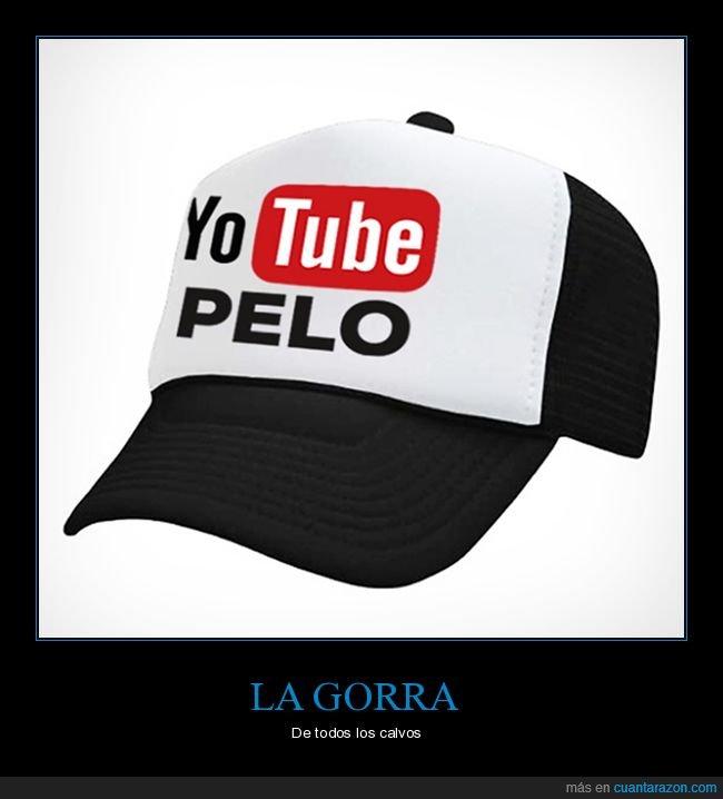 gorra,pelo,youtube