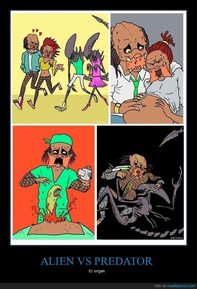 alien,alien vs predator,depredador,embarazada