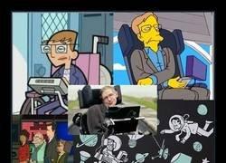 Enlace a Recordando a Stephen Hawking a través de sus apariciones en series animadas