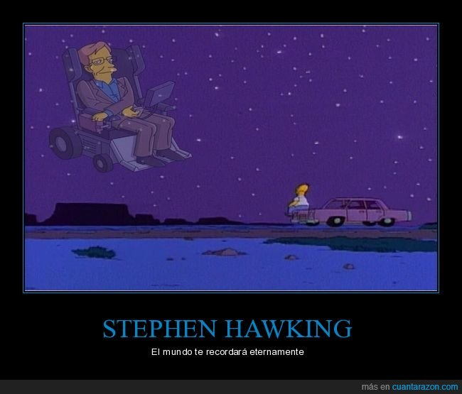 simpsons,stephen hawking