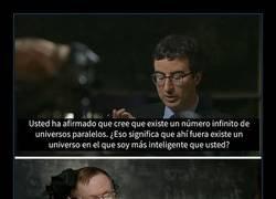 Enlace a El gran sentido del humor de Stephen Hawking