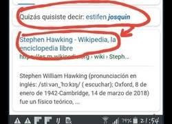 Enlace a Estifen joaquin y otros nombres famosos que sólo entiende Google