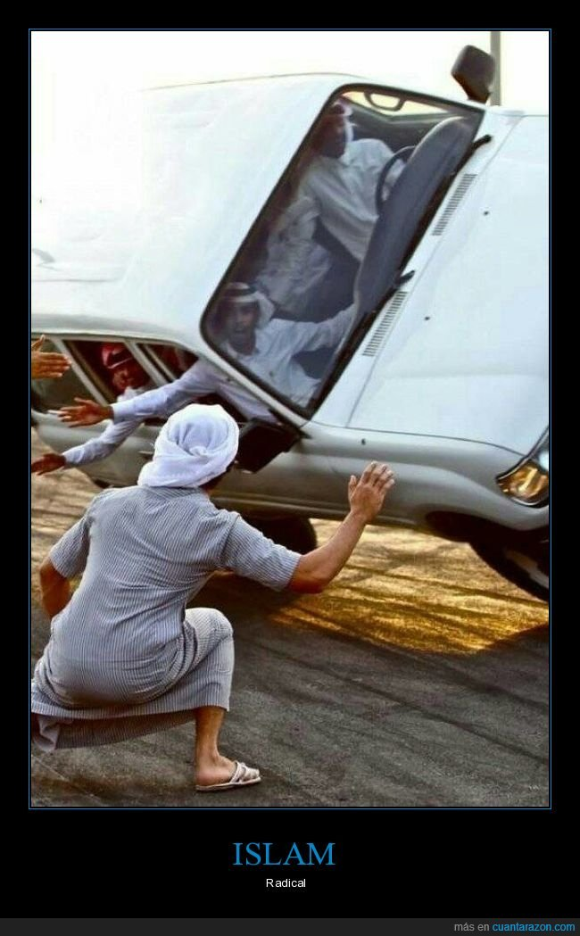 coche,islam,musulmanes,radical