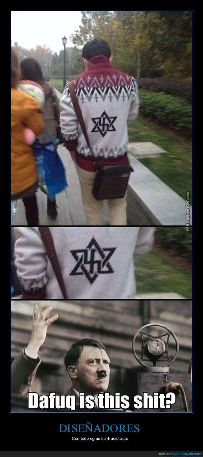 estrella de david,esvástica,jersey,judío,nazi,wtf