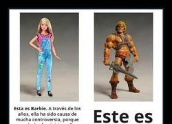 Enlace a Barbie y He-Man