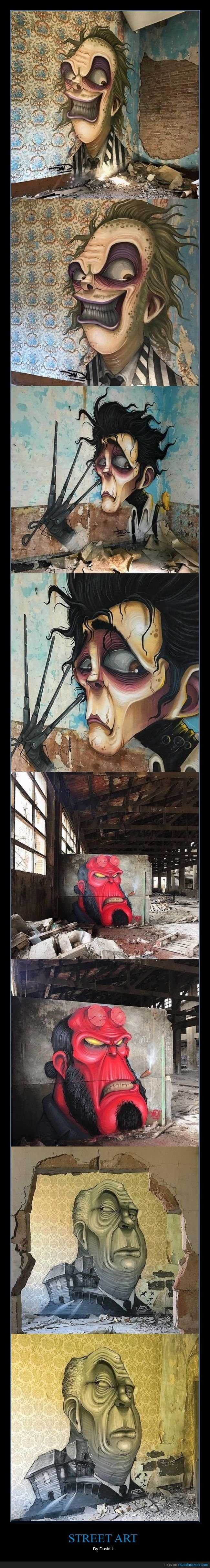 arte callejero,david l