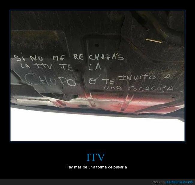chupar,cocacola,coche,itv