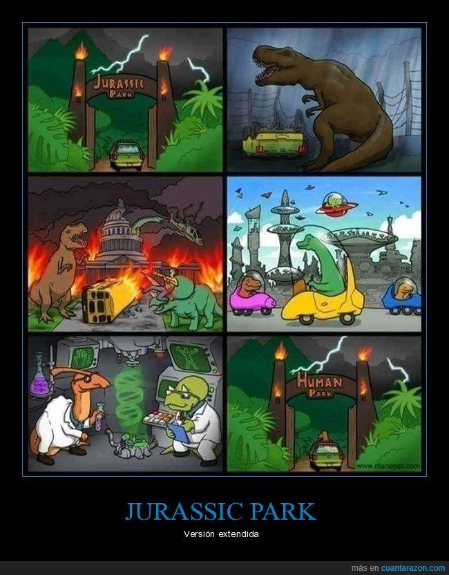 dinosaurios,humanos,jurassic park