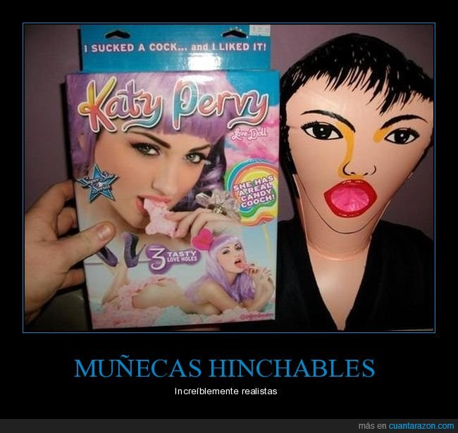 katy perry,muñeca hinchable,realista