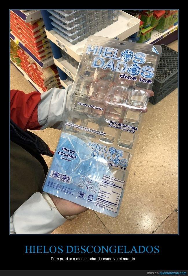agua,descongelado,hielo,producto