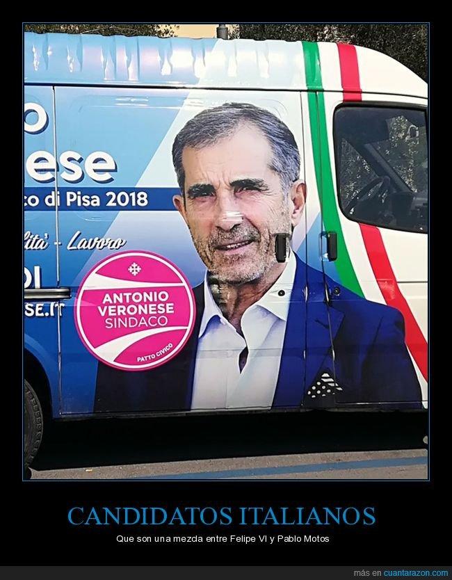 candidato,felipe vi,italiano,pablo motos,parecidos