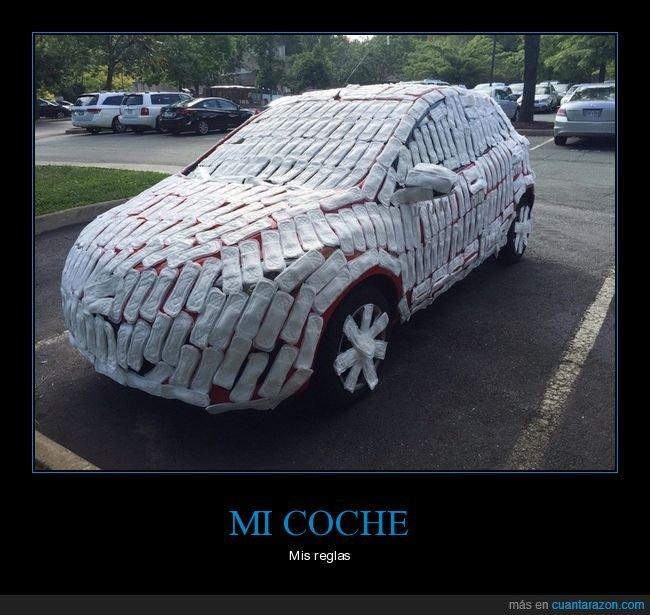 coche,compresas,wtf