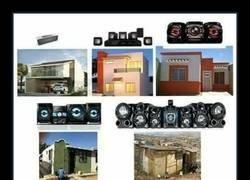 Enlace a Equipos de sonido según viviendas