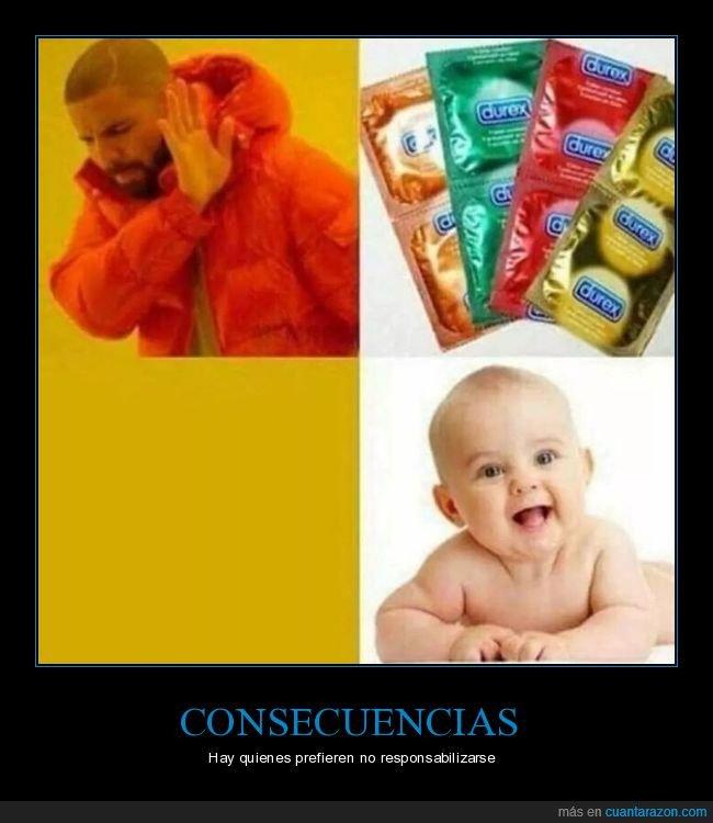 bebé,condones,drake