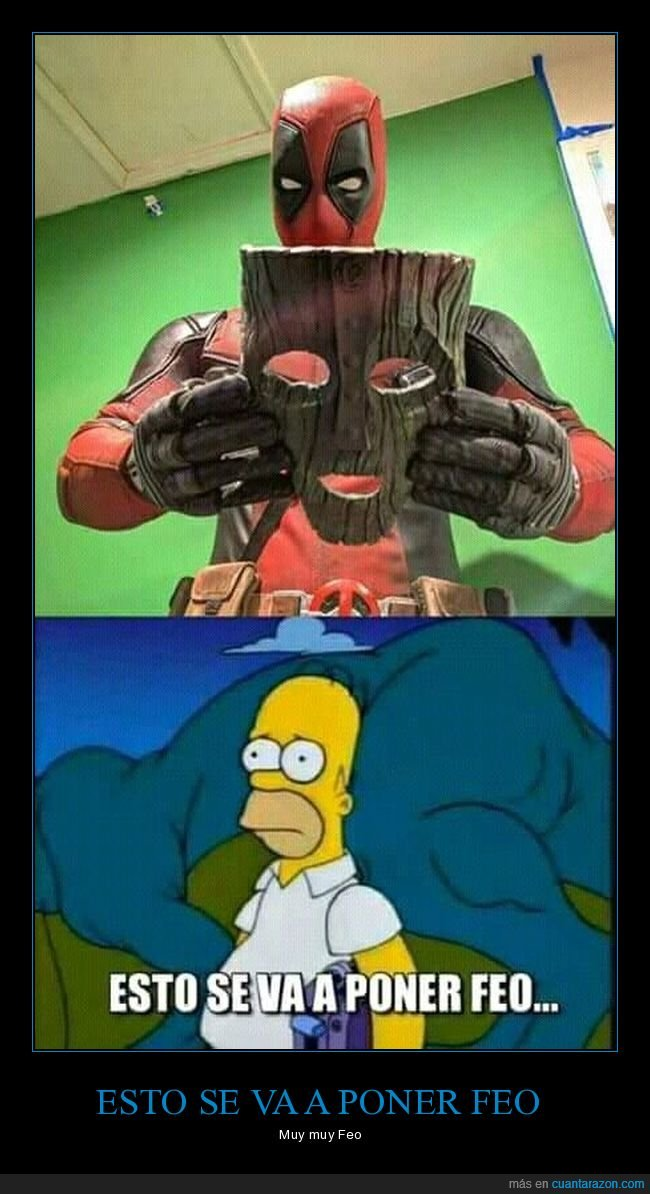 deadpool,diversion,homero si homero,locura