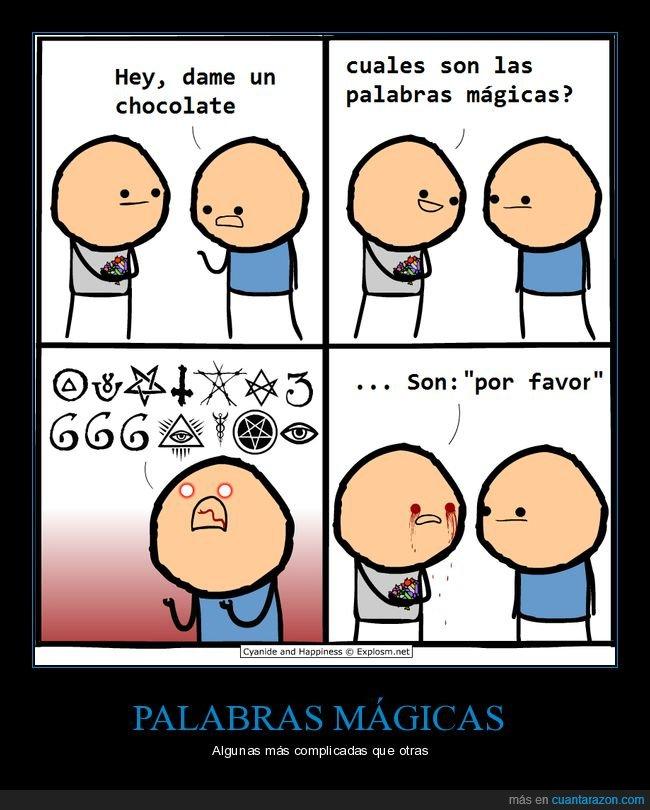palabras mágicas,por favor