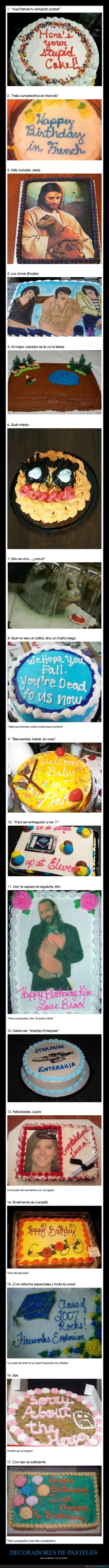 fails,pasteles