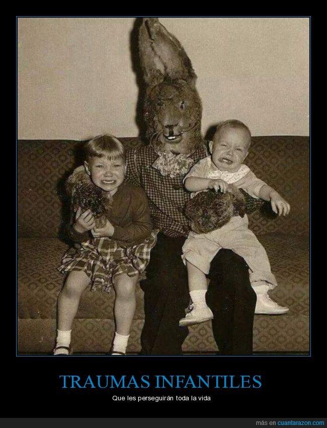conejo,miedo,niños