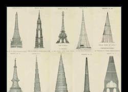 Enlace a Los diseños descartados de la Torre Eiffel