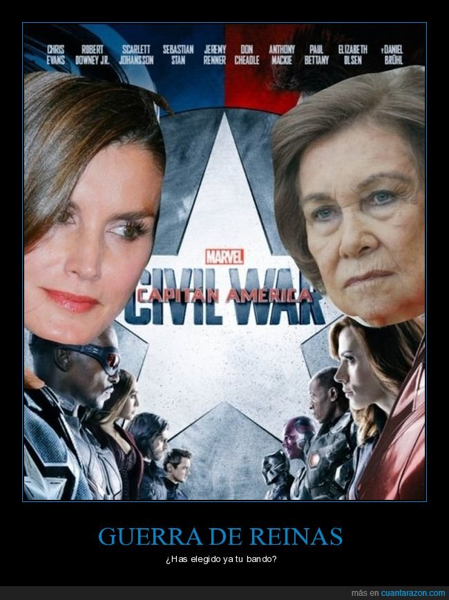 civil war,letizia,sofía