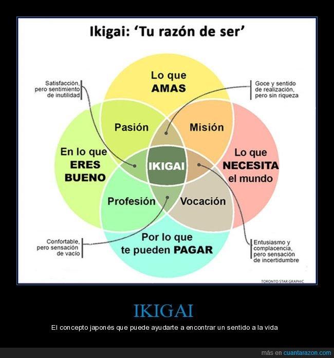 ikigai,sentido,vida