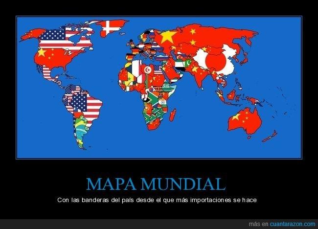 banderas,curiosidades,importaciones,mapa