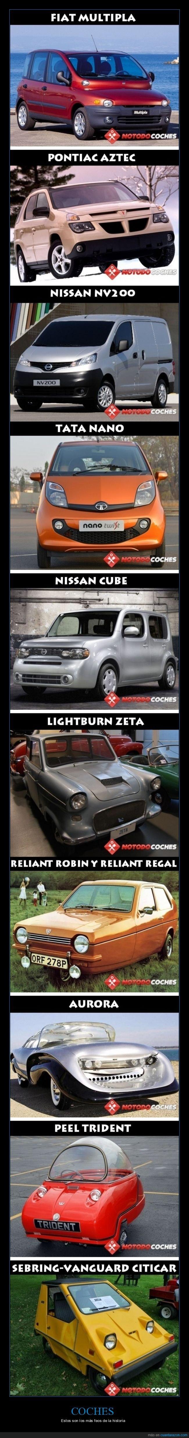 coches,diseños,feos