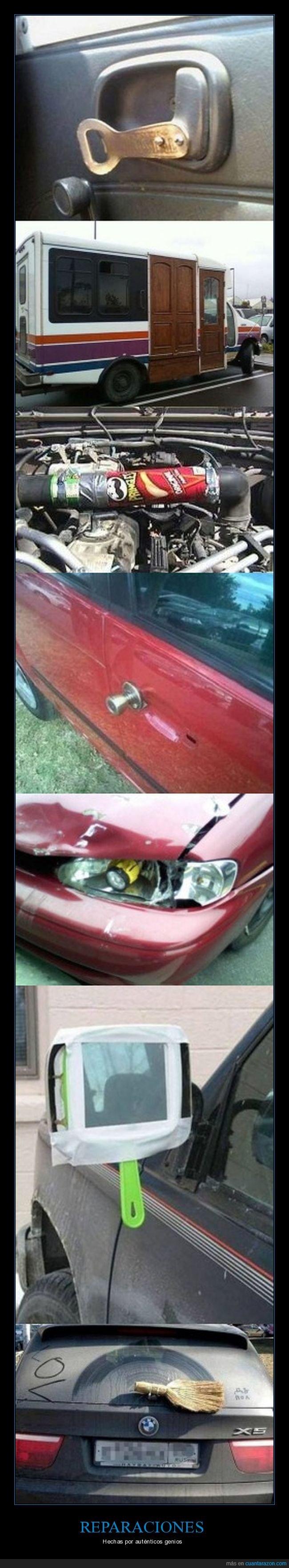 coches,fails,reparaciones