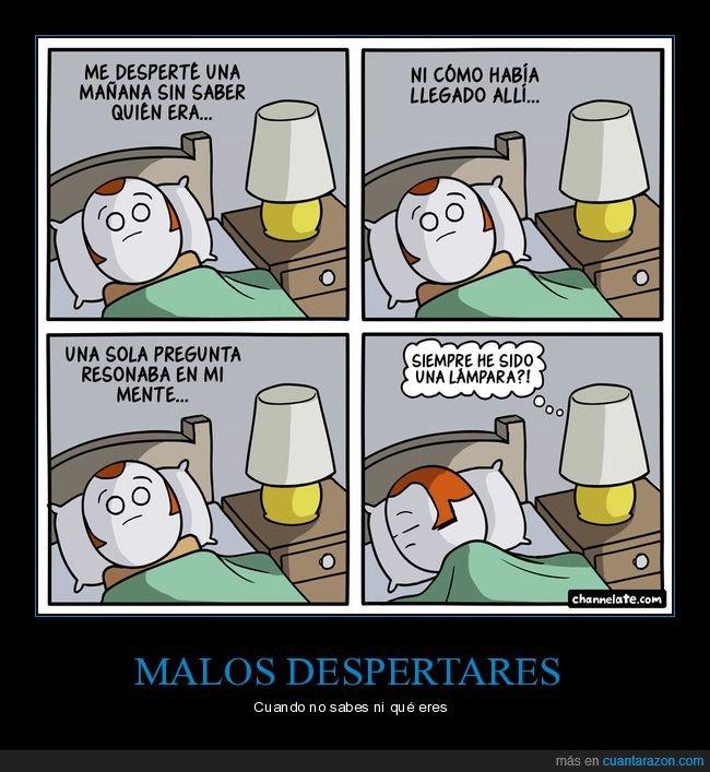 despertar,lámpara
